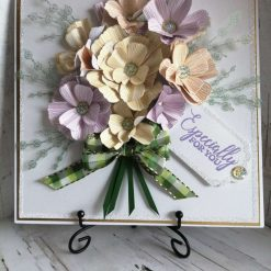 Luxury Handmade Bouquet Card - Especially for you