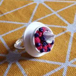 Summer fruits adjustable ring