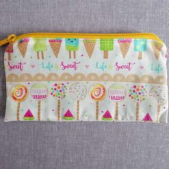 Pencil/Accessories Case in Sweet Life fabric