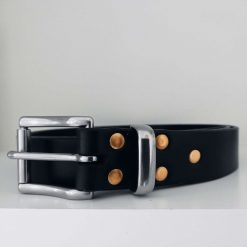 The Buckfast Handmade Leather Belt.