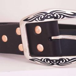 The Taw Handmade Leather Belt.