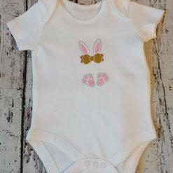 1Bunny baby bodysuit