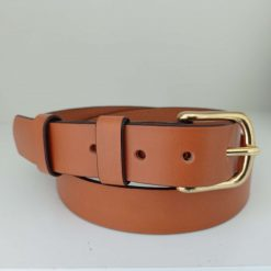 The Tavy Handmade Leather Belt.
