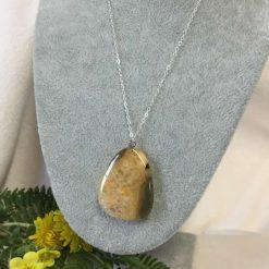 Agate Gemstone Pendant