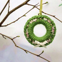 Daisy yellow Spring/Summer ring wreath decoration