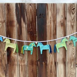 Equestrian Bunting Horse Pony Gift