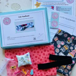 Cute Headband - Kids Sewing Kit