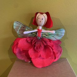 Red fairy doll