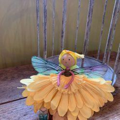 Sunflower fairy doll