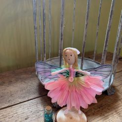 Pale pink fairy doll