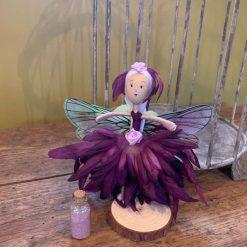 purple fairy doll