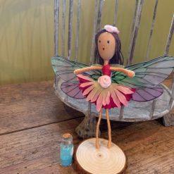 Pink tutu fairy doll