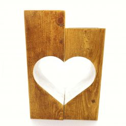 Heart Candle Holder Duo