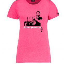 6Music Shaun Keaveny #theopenarms GreaTs T-shirt