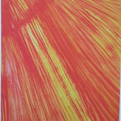 A NEW BROOM SWEEPS CLEAN – A4 UNFRAMED ABSTRACT PRINT – SUNSHINE RAYS + POEM – ORIGINAL ART DIRECT