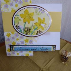 Daffodils Sunshine & Smiles Any Occasion Card