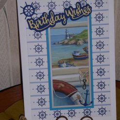 Seascapes Birthday, Fishing Boats & Wheels