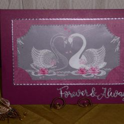 Z: sold Anniversary/Engagement/Wedding Card - Swans