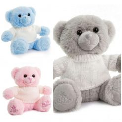 Small Bear with Personalised Jumper/ cuddly toy/ teddy/ embroidery