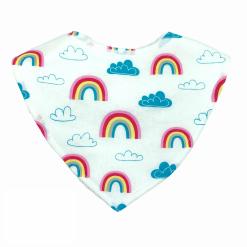 Rainbow Baby Dribble Bib