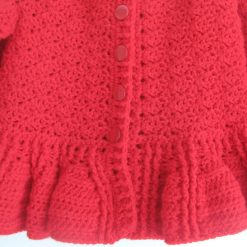 Red Designer Cardigan by SerendipityGDDs, Springtime, For Age 3 2