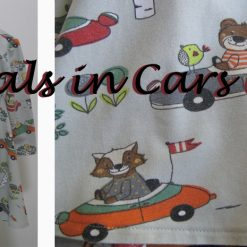 Animals in Cars Dress by SerendipityGDDs for age 2 5