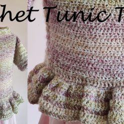 Crochet Tunic Top by SerendipityGDDs, For Age 2 6