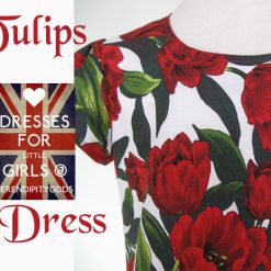 Tulips Dress by SerendipityGDDs, Springtime Fashion, For Age 3 6