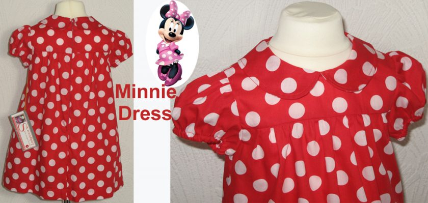 Minnie Dress by SerendipityGDDs, For Age 2