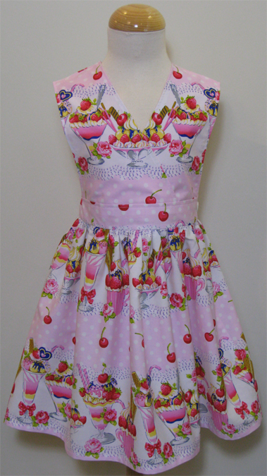 Sundae Pink Dress by SerendipityGDDs, For Age 4