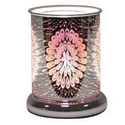 Cylinder 3D Electric Wax Melt Burner - Peacock