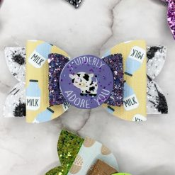 Glitter Bow - 'A Wild Thing' Collection - Can't Bear You Honey