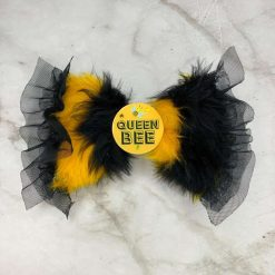 Fur Bow - 'Behaving Baa-dly' Collection - Baa-d To The Bone