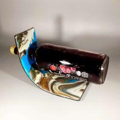 Fused Glass Bottle Holder
