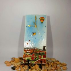 Wildlife Breeze Glass Clock