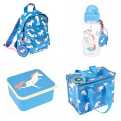 Lunch Set with Matching Mini Backpack/ back to school/ personalised/ embroidery/ patterns/ animals/ bag/ lunch box 3