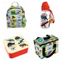 Lunch Set with Matching Mini Backpack/ back to school/ personalised/ embroidery/ patterns/ animals/ bag/ lunch box 4