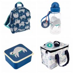 Lunch Set with Matching Mini Backpack/ back to school/ personalised/ embroidery/ patterns/ animals/ bag/ lunch box 5
