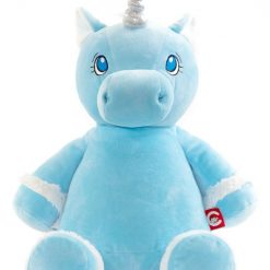Starflower Blue Unicorn/ personalised/ cuddly toy/ embroidery/ mythical creatures