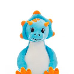 Sir Monty Blue Dinosaur/ personalised/ cuddly toy/ Dino/ embroidery