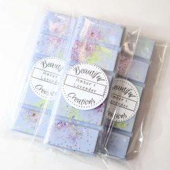 Amber & Lavender Snap Bar Wax Melt
