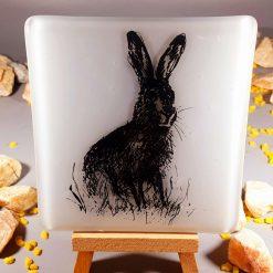 Fused Glass Festive Coasters (set of 4)