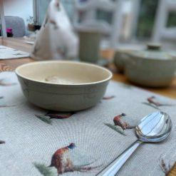 Pheasant Linen Placemat, Placemats