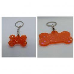 Small & Large Resin Dog Bone Key Ring - 2 for £3.49