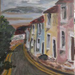 "Original acrylic painting "" Mumbles"""