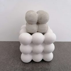 Large and Small Concrete Bubble Set