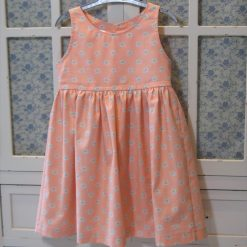 Peach Melba Dress by SerendipityGDDs, for Age 3