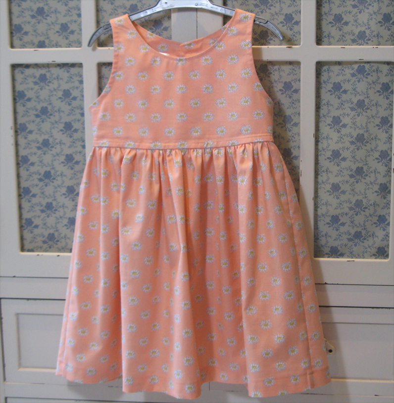 Peach Melba Dress by SerendipityGDDs, for Age 3