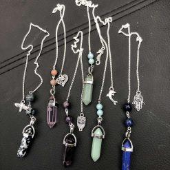 Beautiful crystal pendulums