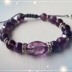 Amethyst Adjustable Bracelet